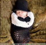 Babies Black Winter Blanket
