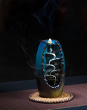 Smoking Waterfall Incense Burner