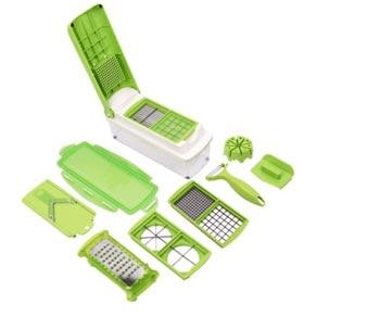 12 IN 1 MULTIFUNCTIONAL VEGETABLE & FRUIT SHREDDER SLICER CHOPPER