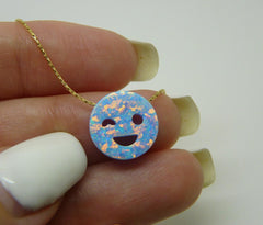 Smiley Emoji necklace