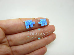 Puzzle piece Opal necklace - OpaLandJewelry