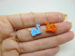 Camel necklace - OpaLandJewelry