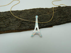 Women's Eiffel Tower Pendant Necklace