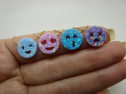 emoji necklace