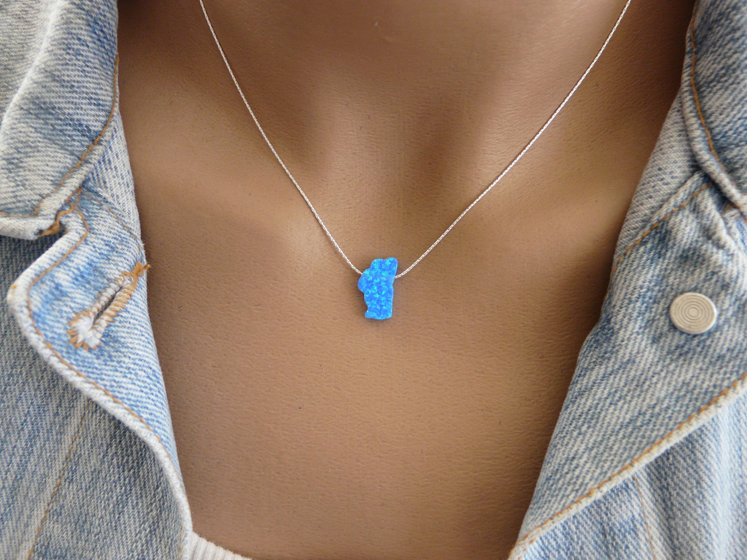 Lake Tahoe necklace