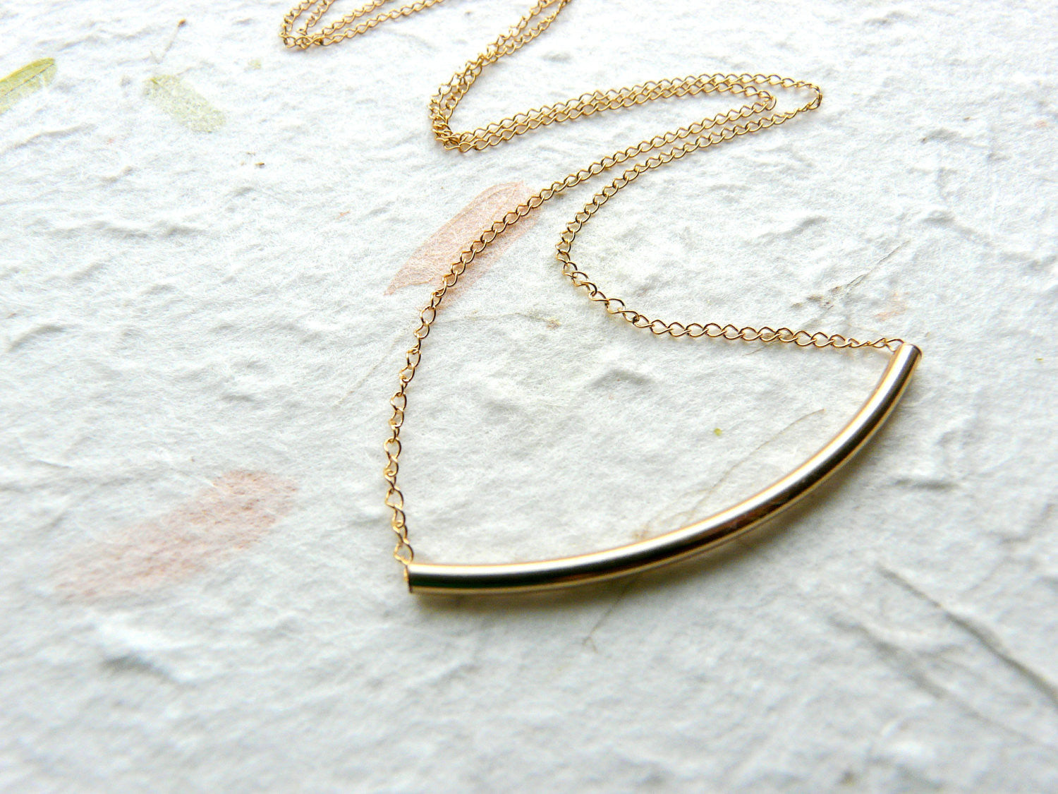 Tube necklace - OpaLandJewelry