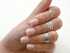 8 above the knuckle rings - OpaLandJewelry