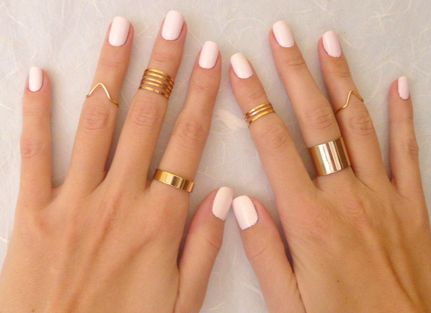 9 rings set in Silver / Gold - OpaLandJewelry