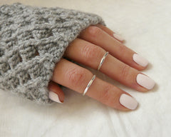 Sterling silver knuckle rings - OpaLandJewelry