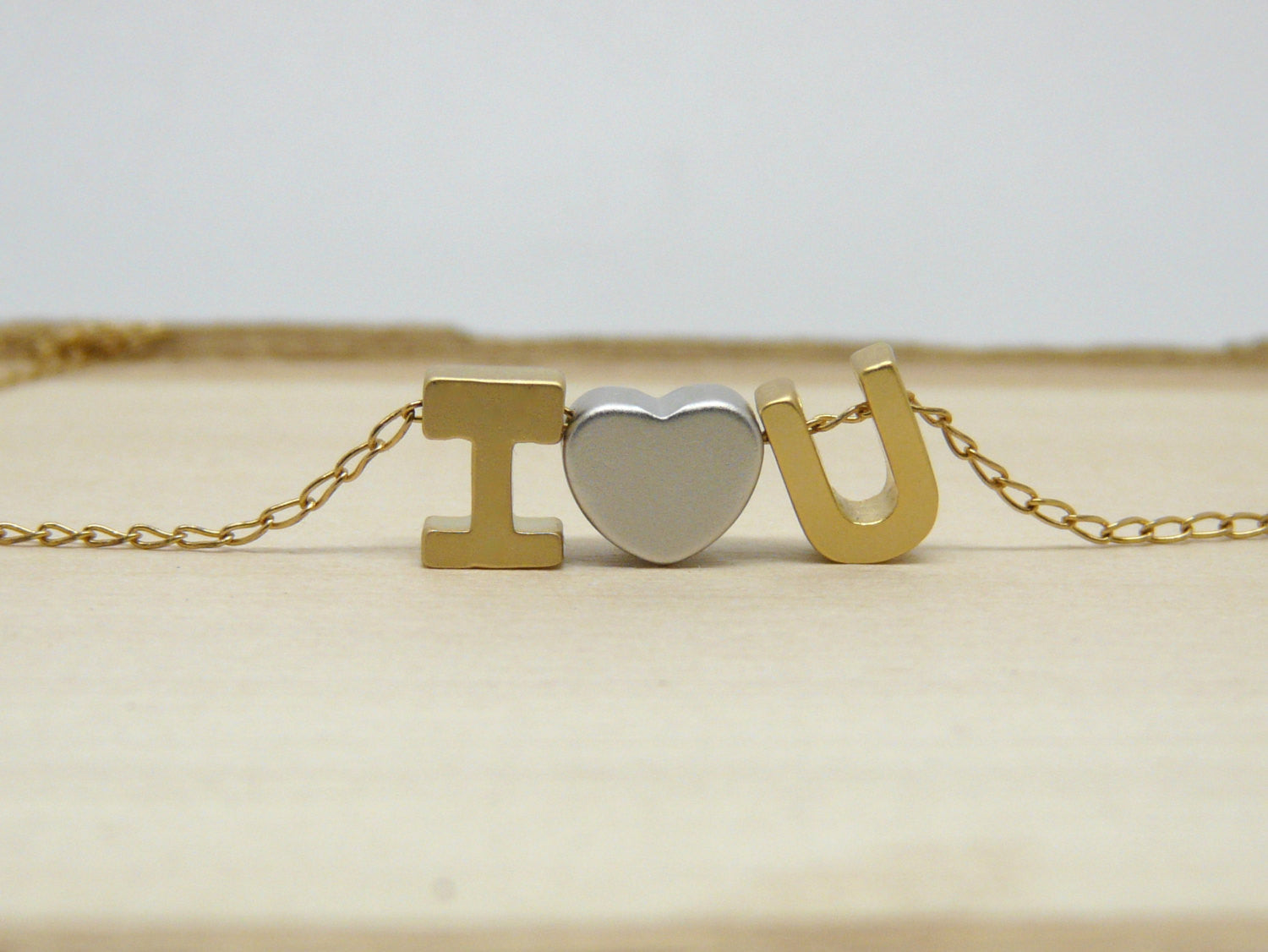 I Love You necklace - OpaLandJewelry