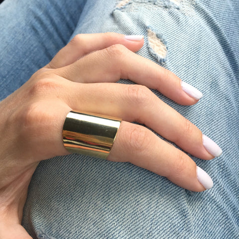 Statement Gold ring - OpaLandJewelry
