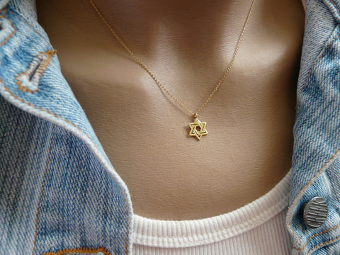 Star of David necklace - OpaLandJewelry