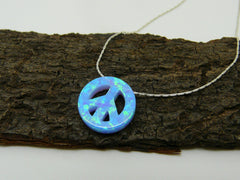 Peace sign necklace - OpaLandJewelry