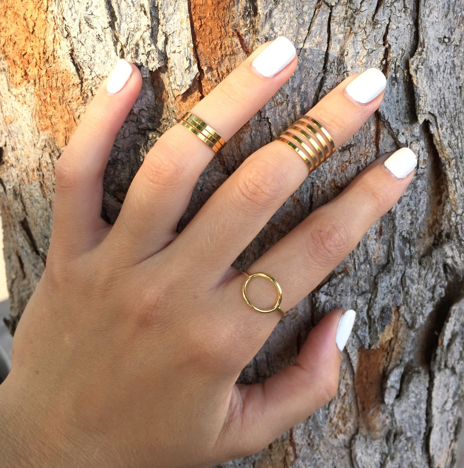 Simple gold filled ring - OpaLandJewelry