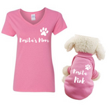 Personalized Human and Dog Matching Outfit
