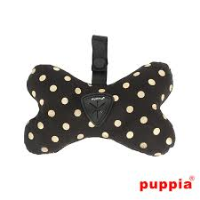Puppia Modern Dotty Waste Bag - Black