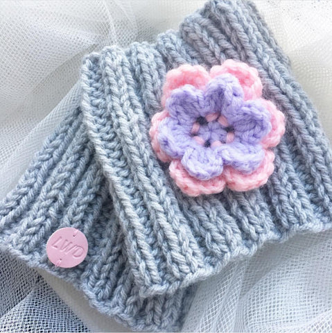 LWD handmade snood - Flower