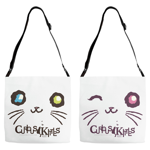 Curious Kitties Shop Unique Cat Gift Idea: Majestic Mew Double ◈ Bag