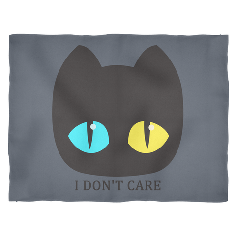 Pouty Cat ◈ Blanket - Curious Kitties Shop Tokyo By Ameshin