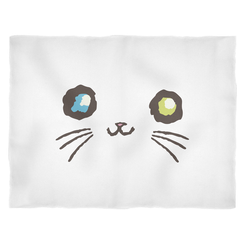 Majestic Mew ◈ Blanket - Curious Kitties Shop Tokyo By Ameshin