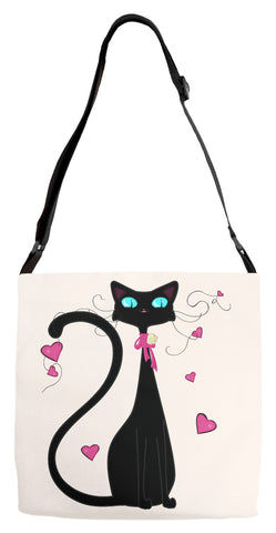 Curious Kitties Shop Unique Cat Gift Idea: Misses Luv Cat ◈ Bag