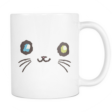 Curious Kitties Shop Unique Cat Gift Idea: Majestic Mew ◈ Mug