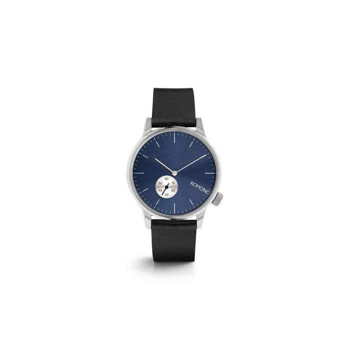 Winston Subs Silver Blue Watch