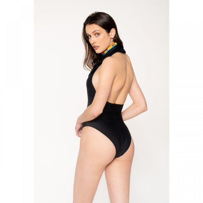 Lisa Black Swimsuit