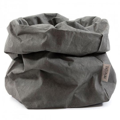 Dark Grey Paper Bag