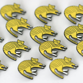 Sleeping Cat Pin