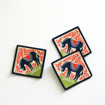 Donkey Sew On Patch