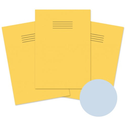 A4 Tinted Paper Exercise Book Yellow/Blue - Kidscorner
