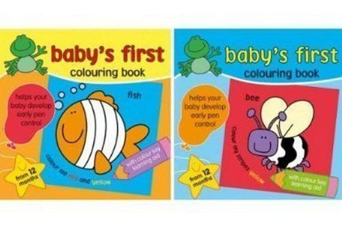 Baby's First Colouring Book - Kidscorner
