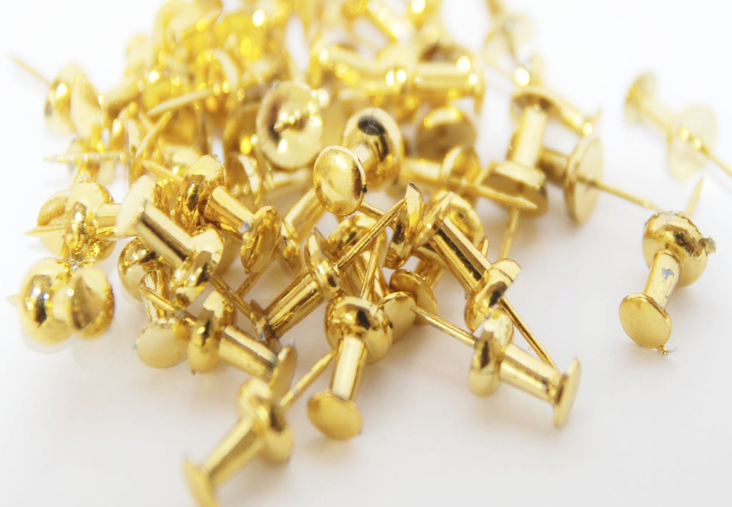 Gold Push Pins - Kidscorner