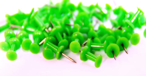 Green Push Pins - Kidscorner