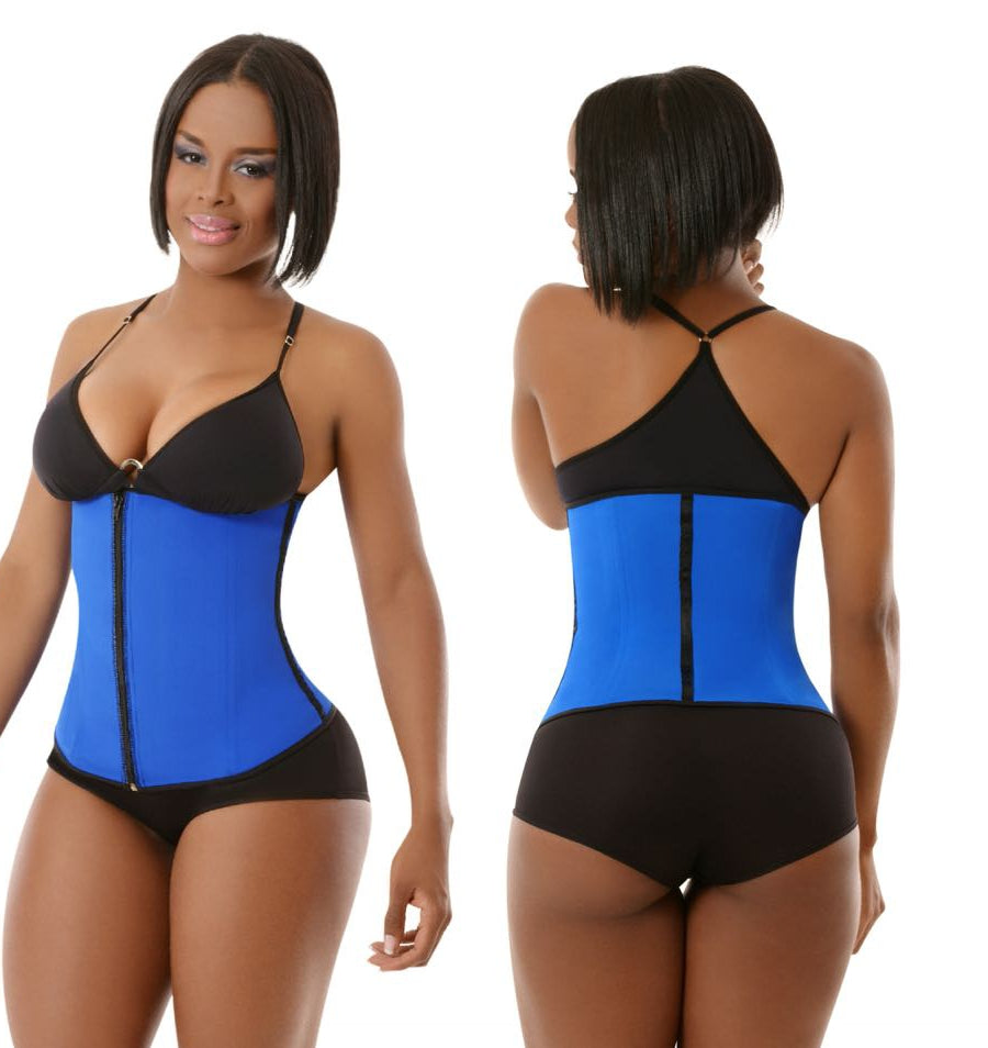 19036178dff Clip   Zip Latex Waist Trainer – SNATCHED KURVES