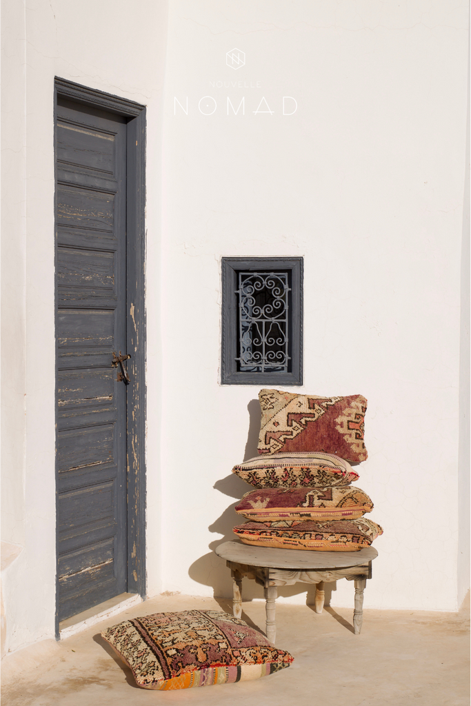 Nouvelle Nomad 2018 Vintage runner and cushion collection