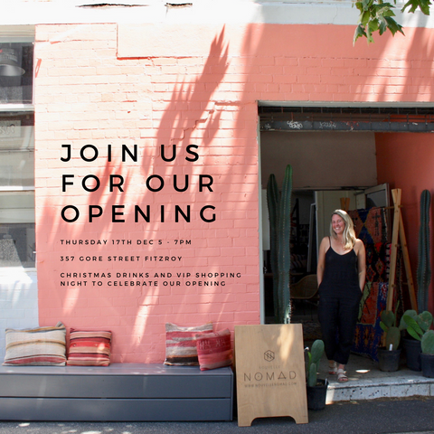 Nouvelle Nomad Fitzroy showroom opening event