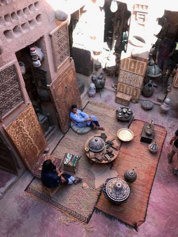 South Morocco kasbah antiques