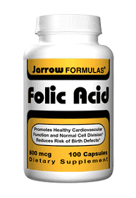 FOLIC ACID 800 Mg