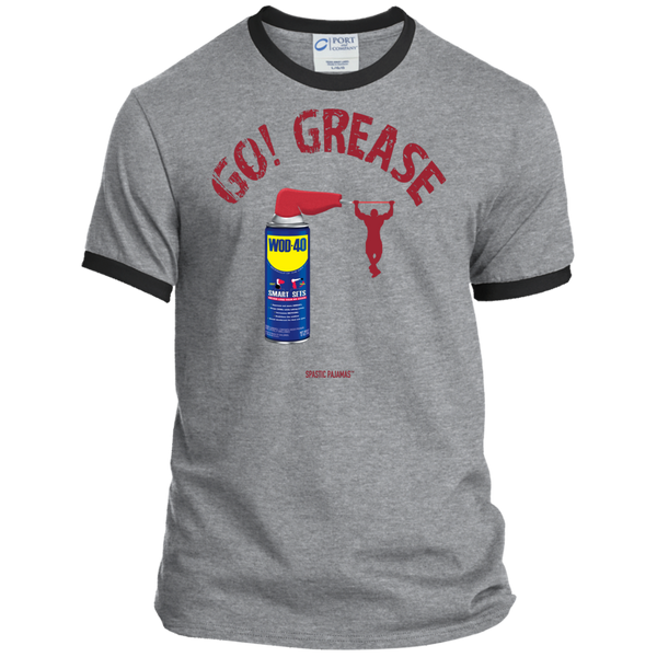 WOD-40 - Go Grease - SP / Men's Ringer T-Shirt