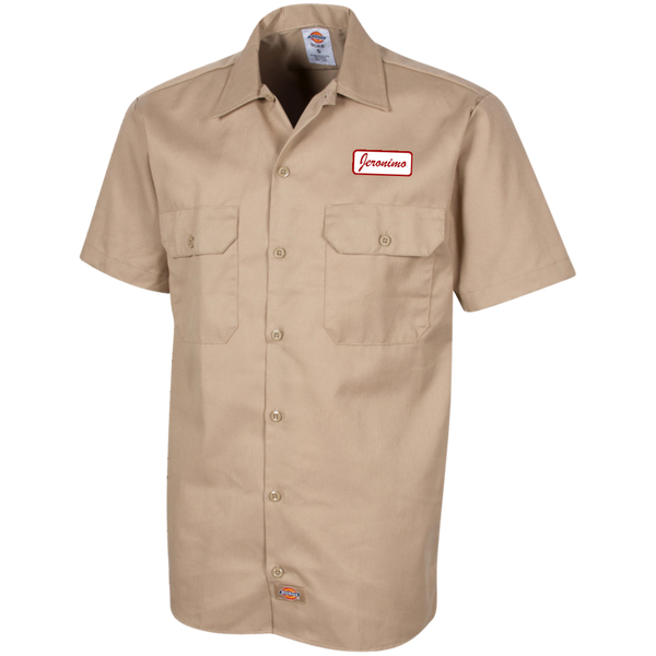 Jeronimo Men's Short Sleeve Workshirt