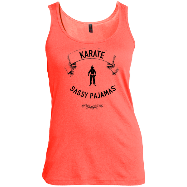 Karate - Sassy Pajamas / Women's Scoop Neck Tank