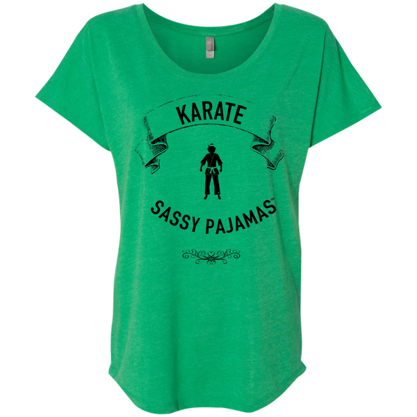 Karate - Sassy Pajamas / Women's Dolman Sleeve Tee