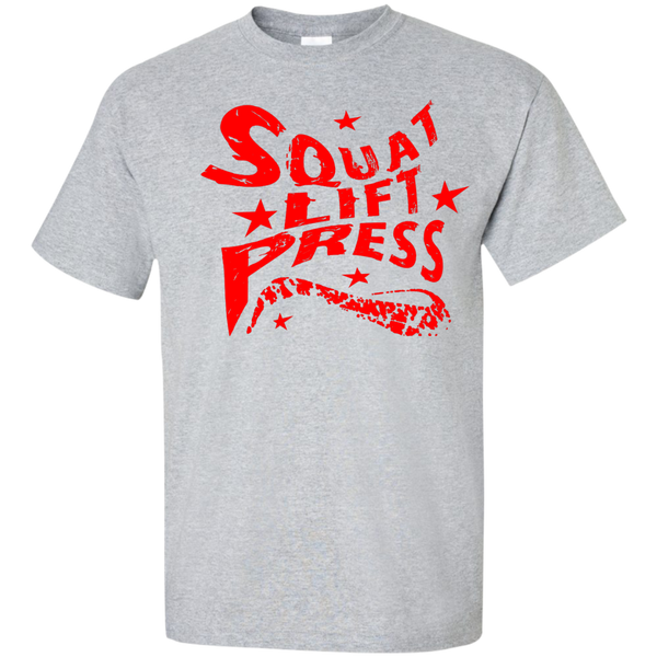 Squat Lift Press / Men's T-Shirt