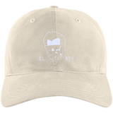 El Rey White Embroidery Baseball Cap