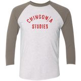 Chingon/a Studies 3/4 Sleeve Baseball Raglan T-Shirt