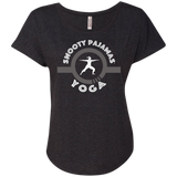 Snooty Pajamas - Yoga / Women's Dolman Sleeve Tee (Light lettering)