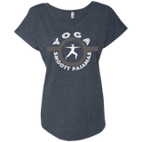 Yoga - Snooty Pajamas / Women's Dolman Sleeve Tee (Light lettering)
