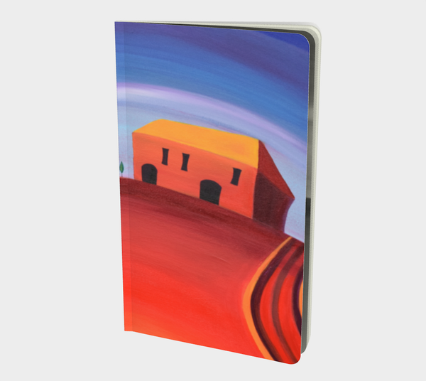 Tuscan Red Note Book Small